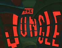 Redesigned Cover for Upton Sinclair's The Jungle