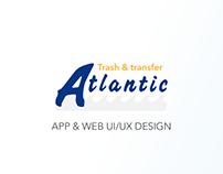 App + Web portal design
