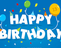 Happy 13th Birthday Joomla!