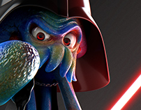 Squid Vader - aNankin Squidwalker