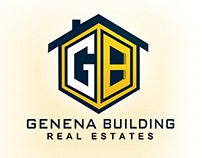 Genena Building logo design
