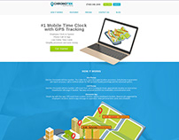 Time Tracking System Website Redesign