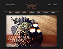 NYKS Website Design
