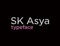 SK Asya Typeface