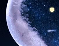 Composición Digital - Moon