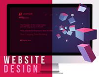 Website Design: Pre-accelerator Programme