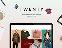 Twenty - A Trendy & Versatile WooCommerce WP Theme