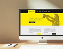 Webdesign - Fitness