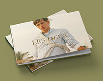 Catalogue for the danish fashion brand Les Deux