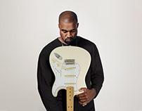 Kanye West & Fender