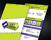 Transport App UI Design