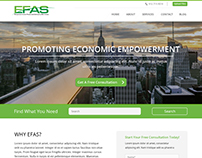 EFAS - Website Design