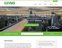 EFAS - Website Design