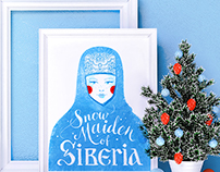 Snow Maiden of Siberia