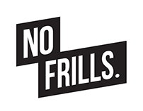 NO FRILLS LOGOTYPE