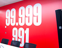 News International wall graphics