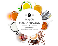 FOOD FRAUD infographic