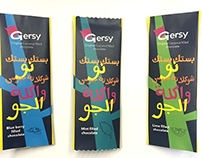 Gersy Rebranding Packaging Project