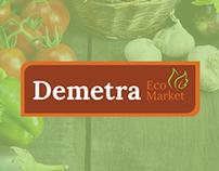 Branding Demetra Eco Market