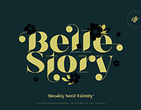 Belle Story - Display Font
