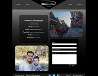 Web Layout: Damien Photography