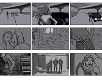 Storyboard for social advertising