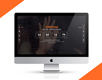 OPEKKHA - Coming Soon Template (free psd)