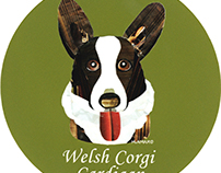 013 | Welsh Corgi Cardigan
