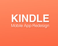 Kindle App Redesign