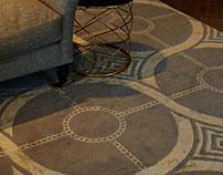 Bespoke chain rug