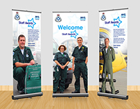 Pull up Banners for Scottish Ambulance Service Awards