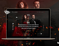 FashionDiamond Website Concept