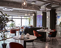 CHANOU FRENCH BISTRO / Bistro, Interior Design
