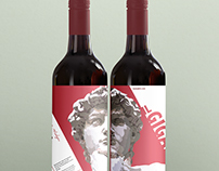 The David Wine Label - Il Gigante