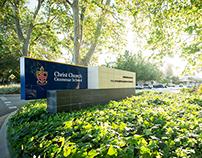 Christ Church Grammar School – Entrance Signage