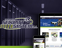 UltraCell Security System - Website Design