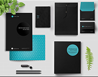 Сreating a corporate identity for marketing agency