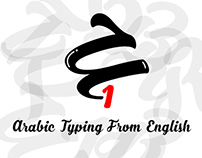 Arabic Typing From English