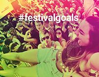 Ticketweb Festival Branding