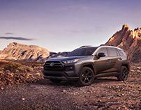 Desert - Toyota RAV4
