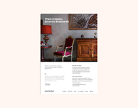 Onefinestay / Print and advertising