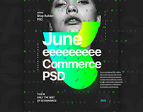 June - eCommerce Product- Web / UI PSD