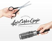 Branding - Luis Carlos Espejo Peluquería
