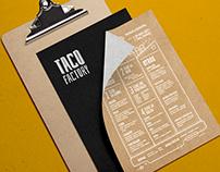 Taco Factory - Branding