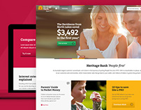 Heritage Bank - Homepage