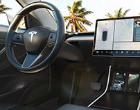 Tesla Automotive Visualization