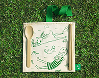 Lawnmap Cutlery Set
