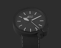Zegarek mechaniczny B2 / B2 mechanical wristwatch