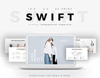 SWIFT Minimal PowerPoint Template
