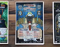 Aspen Food & Wine Breck Distillery Sideshow • Branding